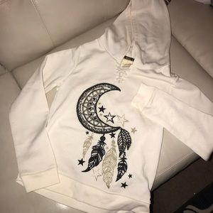 Stars & Moon dream catcher Hoodie size L(14)